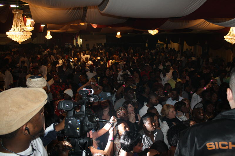 EGE Timaya show in Germany