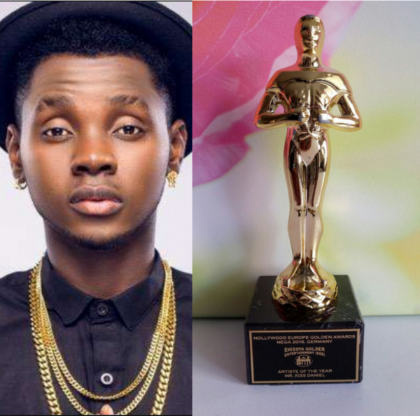 Kiss Daniel NEGA Awards